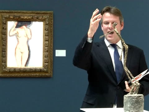 several records were broken for artists at sotheby's new york auction of impressionist and modern art wednesday, with 181 million dollars in sales,... - impressionism stock videos & royalty-free footage
