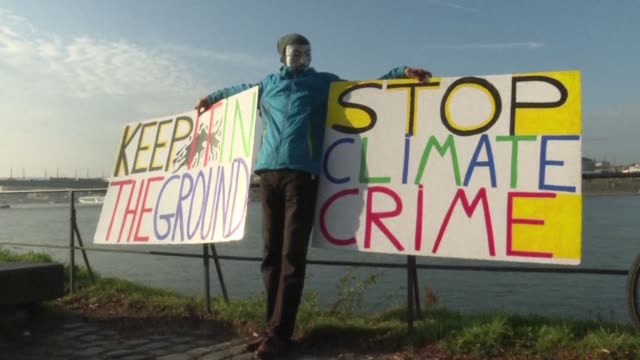 Several thousand demonstrators converge on Bonn ahead of UN climate negotiations to demand that governments step up action to halt global warming...