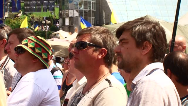 Several thousand people gathered on Kievs Maidan square to call for early parliamentary elections and voice their disagreement with the policy...
