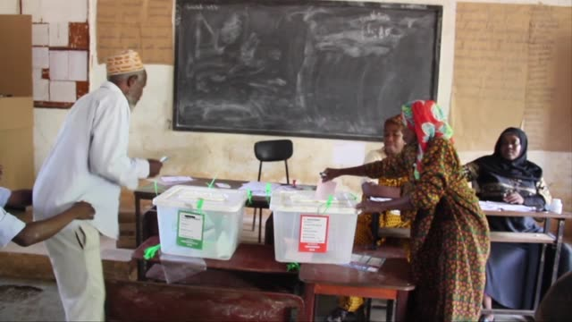 Several thousand voters in Comoros the archipelago nation off the east coast of Africa headed to the polls Wednesday in a partial re run of the...