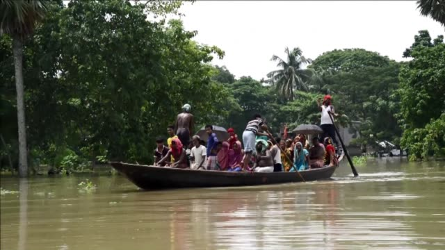 Severe monsoon flooding hits villages near Kolkata in India's West Bengal