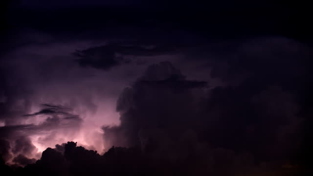 severe thunderstorm - lightning stock videos & royalty-free footage