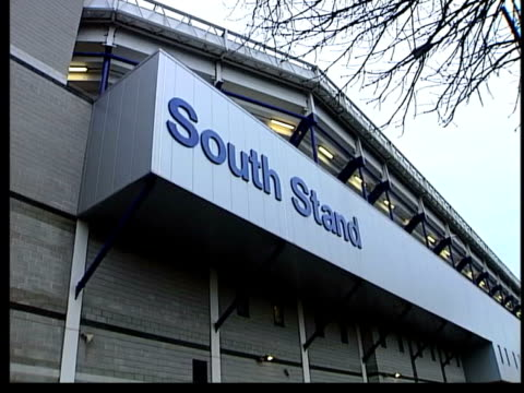 white hart lane la people along outside shop at tottenham hotspur fc south stand gv large puddle outside empty stadium ms group of fans along outside... - tottenham hotspur f.c stock videos & royalty-free footage