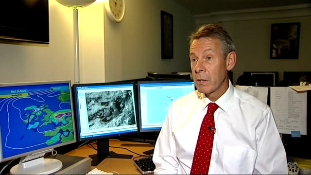 INT Martyn Davies interview SOT Talks of threat of severe weather