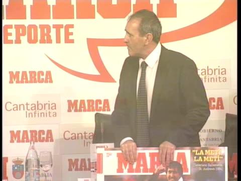 Severiano Ballesteros in the Foro Marca of Soprt Madrid Spain