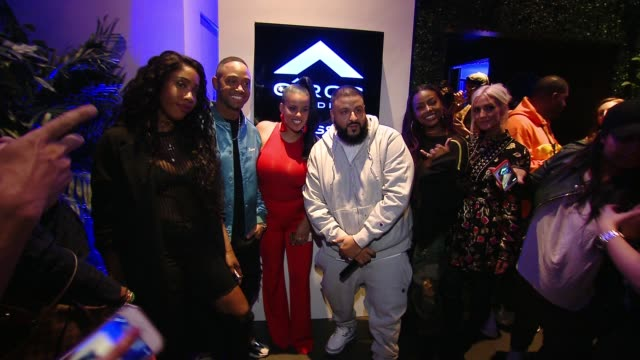 Sevyn Streeter DJ Khaled Ashlee Simpson at CIROC Studios Launch Event Hosted by DJ Khaled at the iconic Record Plant Studios in Los Angeles CA