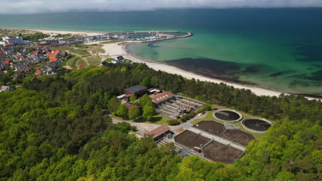 sewage treatment plant - environmental conservation stock videos & royalty-free footage