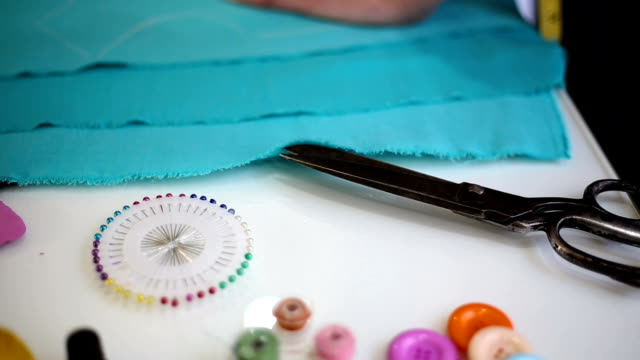 sewing background - thread sewing item stock videos & royalty-free footage