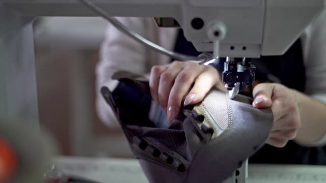 sewing leather shoes - making stock videos & royalty-free footage