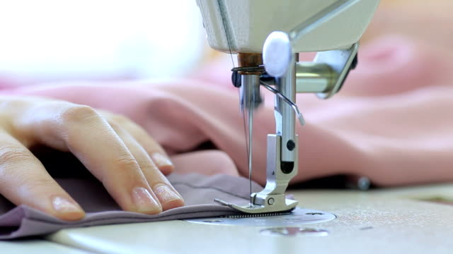 sewing machine hd - sewing machine stock videos & royalty-free footage