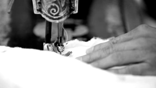 sewing machine needle close up - antique stock videos & royalty-free footage