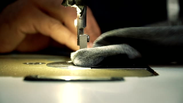sewing machine - thread sewing item stock videos & royalty-free footage