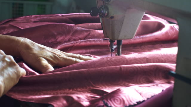 sewing machine - tailored clothing stock videos & royalty-free footage