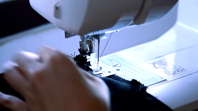 sewing machine - stereotypically working class stock videos and b-roll footage