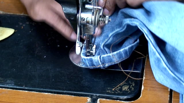 sewing machine - sewing stock videos and b-roll footage
