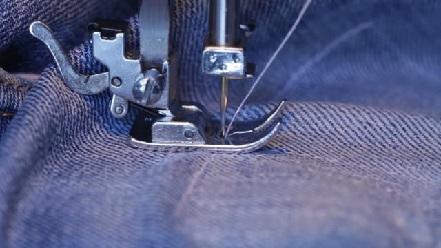 sewing machine - sewing machine stock videos & royalty-free footage