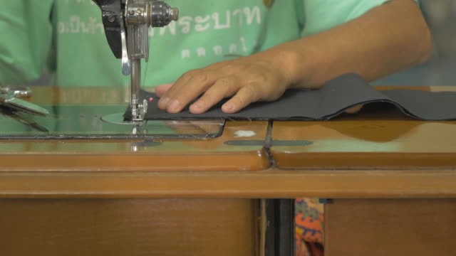 Sewing On A Machine
