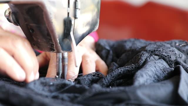Sewing pattern Black.