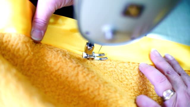 Sewing process.