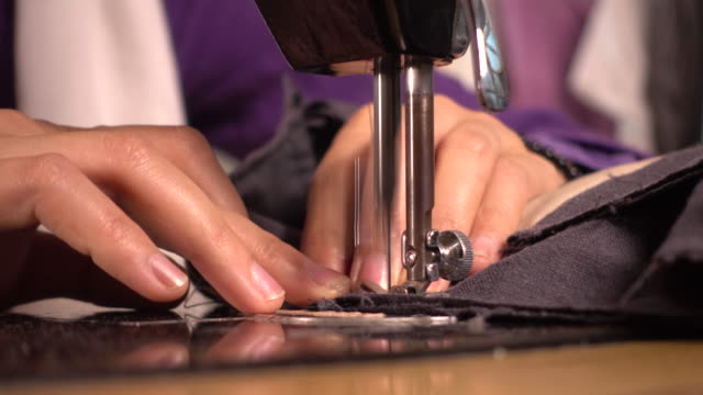 sewing - sewing stock videos and b-roll footage
