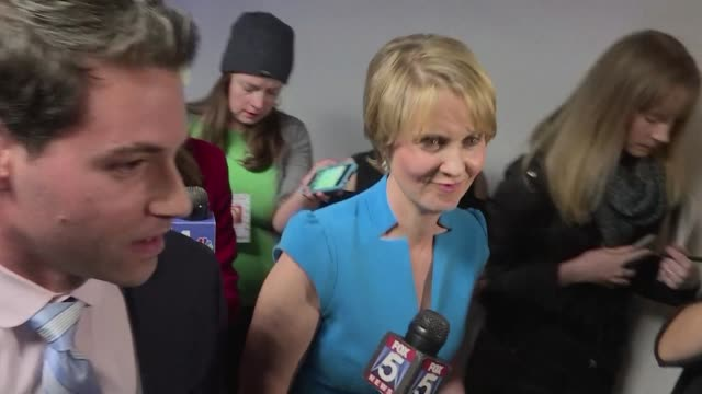 sex and the city star cynthia nixon makes her first campaign stop in brownsville one of the most neglected parts of new york city a day after joining... - cynthia nixon stock videos and b-roll footage