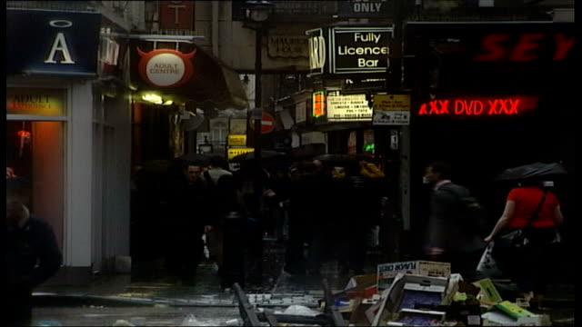 government plans to tackle exact soho street - trafficking stock videos and b-roll footage