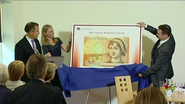 sexism row over new passport design r25071308 / 2572013 alton jane austen's house museum design for new ten pound note featuring author jane austen... - jane austen author stock videos and b-roll footage