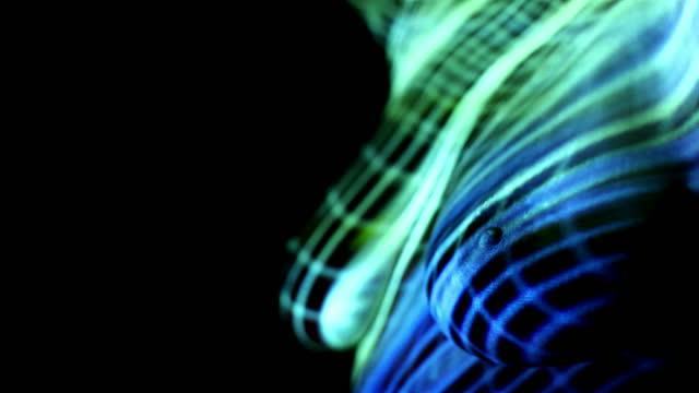 stockvideo's en b-roll-footage met sexy dancer - borst video