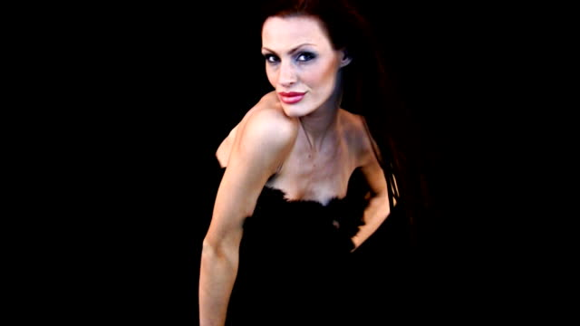 sexy glamour-girl - brustwarze stock-videos und b-roll-filmmaterial