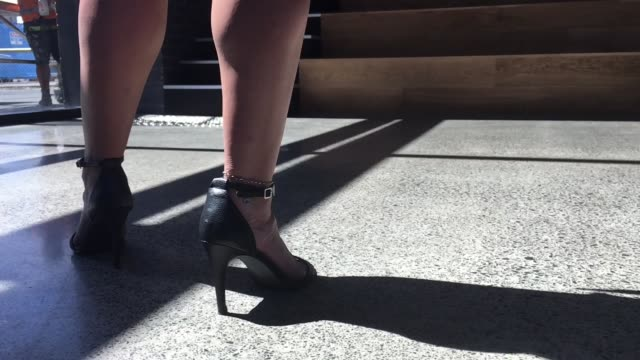sexy woman legs - sandal stock videos and b-roll footage