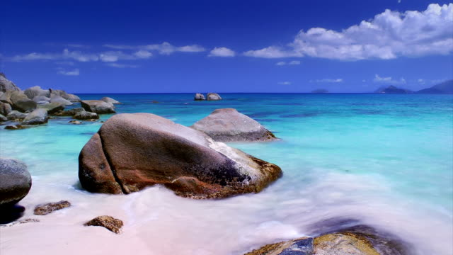 seychelles. anse soleil - seychelles stock videos & royalty-free footage