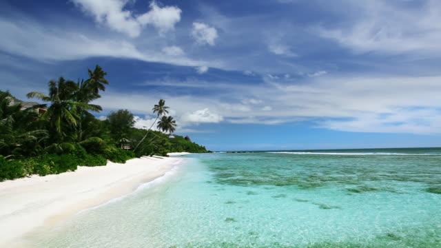 seychelles. forbans cove - seychelles stock videos & royalty-free footage