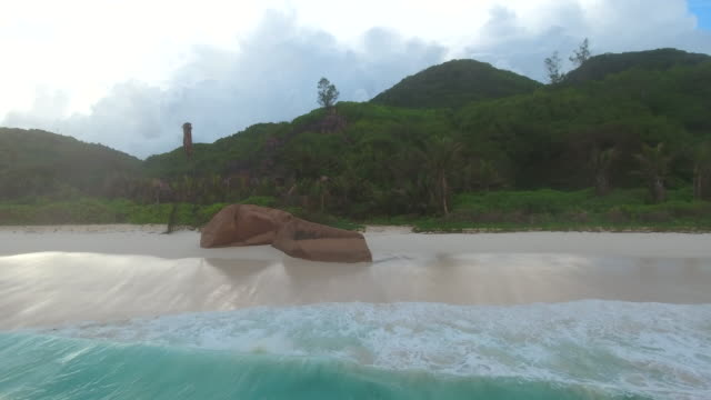 Seychelles, La Digue Island, Grand Anse Beach