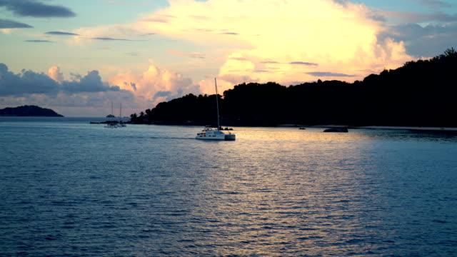 seychelles landscape - seychelles stock videos & royalty-free footage