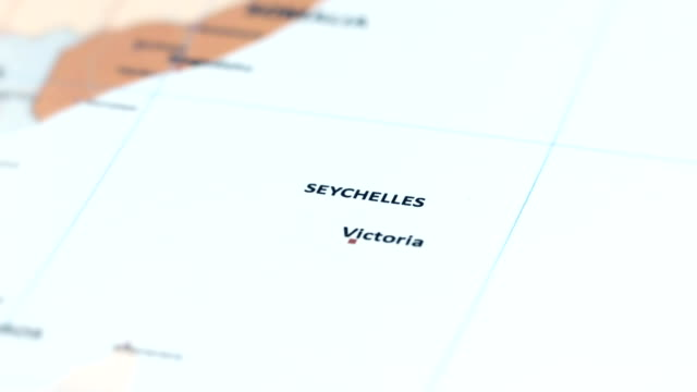 africa seychelles on world map - seychelles stock videos & royalty-free footage