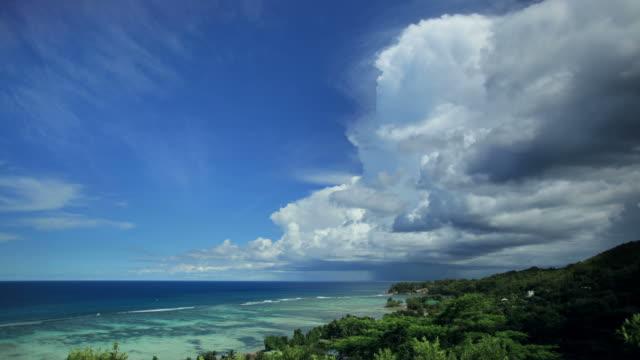 Seychelles seascape time lapse