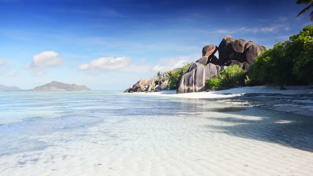 seychelles seascape - mineral stock videos & royalty-free footage