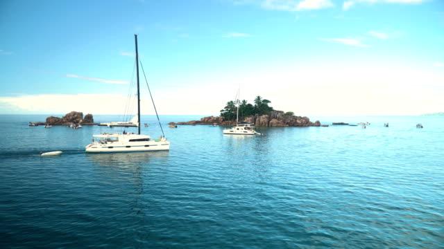 vídeos y material grabado en eventos de stock de seychelles- st pierre island - seychelles