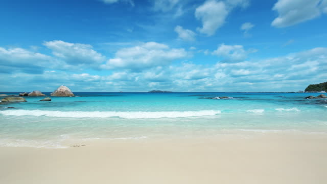 seychelles - sand stock videos & royalty-free footage