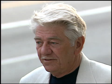 seymour cassel at the billy wilder memorial tribute at ampas in beverly hills california on may 1 2002 - 映画芸術科学協会点の映像素材/bロール