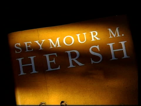 Cs Seymour Hersh Book Chain Of Command The Road From 911 To Abu
