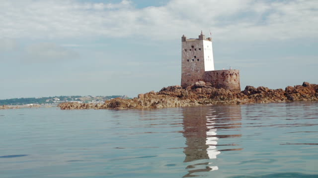 seymour tower - channel islands england stock videos & royalty-free footage