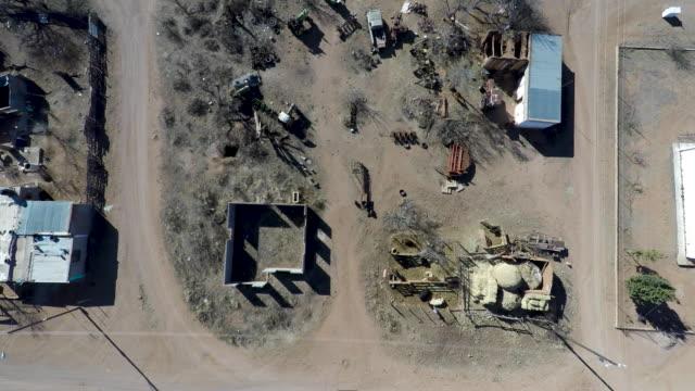 sf_farm community_mexico_aerial_9.mov - national border stock videos & royalty-free footage