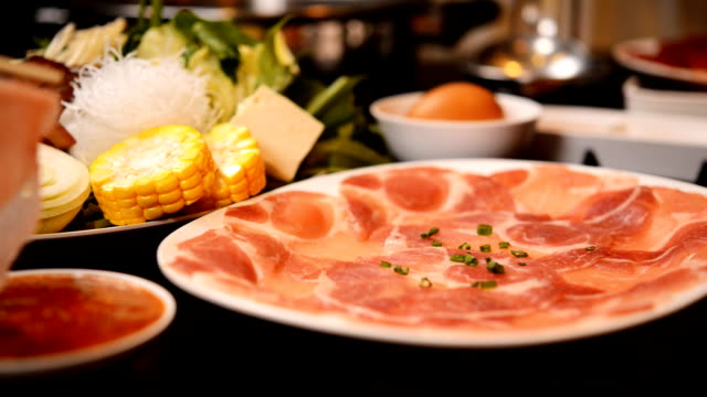 Shabu Shabu and Sukiyaki,Japanese Style and thai Style