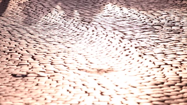 shadervan square in prizren - cobblestone stock videos & royalty-free footage