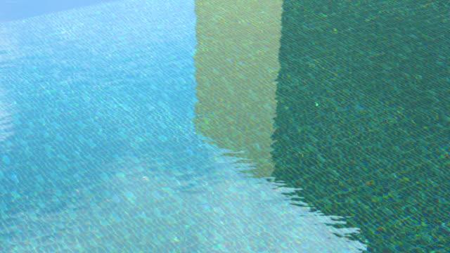 プールの影と波 - 溜水点の映像素材/bロール