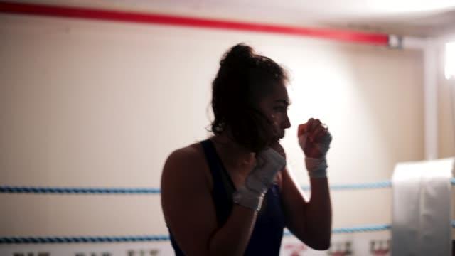 vídeos y material grabado en eventos de stock de boxeo de sombra - autoridad