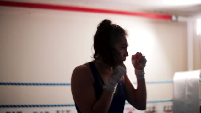 shadow boxing - muay thai stock videos and b-roll footage