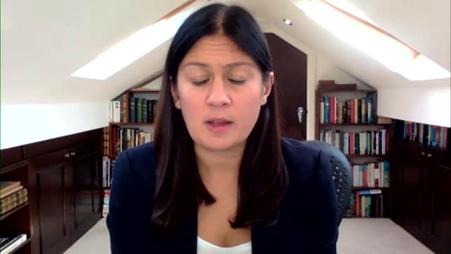 """shadow foreign secretary lisa nandy saying there is """"an element of pessimism"""" about how much pakistan can help afghan refugees - shadow stock videos & royalty-free footage"""