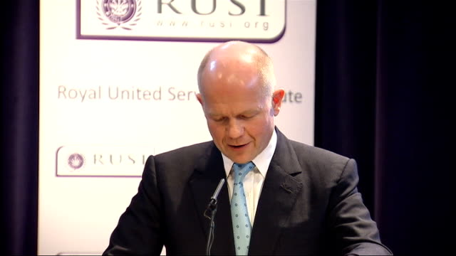 Shadow Foreign Secretary William Hague speech on foreign policy William Hague speech continues SOT If we win the coming general election it is our...